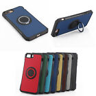 Shockproof Ring Back Hybrid Bumper Cover Case For Apple Iphone 6 7 8 Plus X 53A