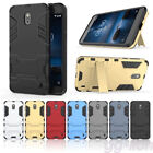 Stand Heavy Duty Armor Hybrid Hard Case Cover For Nokia 2,TA-1029 TA-1035