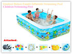 Summer Fun Outdoor Deluxe Family Inflatable Swimming Pool Children Swimming Pool