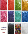 Coloured Styrofoam Balls Polyst Filler Beads Decor Fun Crafts Art 0.5L - 2L