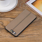 Shockproof  Soft PU Leather Back Cover Case Protecter For Huawei P10/P10 Plus