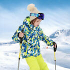 Unisex Kids Snowsuit Waterproof Windproof Thermal Ski Jacket and SKi Pants