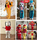 Halloween Dog Mascot Costume Party game Fancy Dress Adult Size  Free shipping
