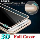 iPhone 8 Plus 8 3D Curved Titanium Edge Tempered Glass Full Coverage Protective