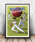 Howzzat , Vintage  Cricket advertising poster reproduction.