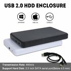 "2.5"" Inch Sata USB 2.0 / 3.0 Hard Drive HDD Enclosure External Laptop Disk Case"