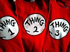 thing one thing two 1 2 3 4 5 6 7 8 9 10 halloween T SHIRT