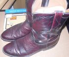 Lucchese Mens 9.5 D Ostrich Cowoby Boots L8284