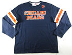 $45 Chicago Bears Men's Navy End of the Line IV Long Sleeve Shirt jersey