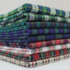 Tartan Shirting Check 100% Cotton Fabric