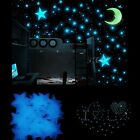 1000Pcs Stars Glow In The Dark Stickers Wall Decal Kids Baby Bedroom Luminous