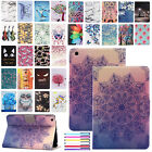 For Ipad Mini 1 2 3 4 Painted Leather Smart Wallet Protective Stand Case Cover