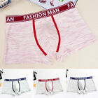 Mens Comfort Underwear Trucks Boxer Briefs Panties Breathable Underpants Shorts