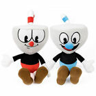 8 Inch Cuphead Ms. Chalice Mugman Plush Toy Mecup And Brocup Stuffed Doll