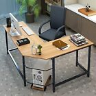 Tribesigns Modern L-Shaped Desk Corner Computer Desk PC Latop Study Table Home &