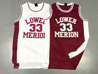 Mens Kobe Bryant Lower Merion High School #33 Basketball Jersey Throwback