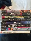 Lot of 8 Playstaion3 PS3 Games COD Uncharted batman GTA