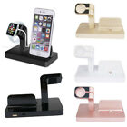 2in1 Charging Dock Stand Station Charger Holder for Apple Watch iWatch iPhone 8s