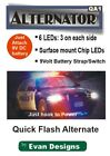 Quick Flash Alternating Strobe Circuit. 6 LEDs! Police, Fire Trucks, R/C, Drones