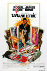 "Live and Let Die 1973 Poster 48x32"" 36x24"" James Bond Roger Moor Print Silk $17.62 CAD on eBay"