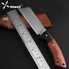 High quality outdoor hunting knife very Sharp Handmade slasher Tactical Combat
