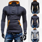 New Mens Slim Pullover Hoodie Warm Pocket Sweatshirt Coat Jacket Sweater Outwear