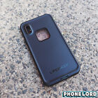 Genuine new Lifeproof Fre Frē case cover for iPhone X waterproof Black IN STOCK