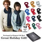 Winter Cashmere Feel Unisex Men And Women Scarf, 100% Cotton Fashion Scarves,