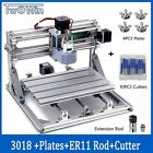 Laser Engraving Cutting PVC Milling Machine CNC 3018 Wood Router Engraver W/ER11