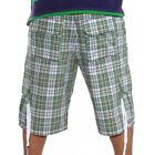 "New Artful Dodger ""Ace Plaid"" Shorts Men's 30, 32, 36 - Green Plaid - MSRP $85"