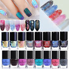 6ml Chameleon Holographic Thermal Colour Changing Nail Art Stamping Polish Decor