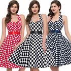 CHEAP! Women 50s PLUS Vintage Homecoming Swing Cocktail Evening Prom Party Dress