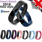 Bluetooth Smart Bracelet Watch Calorie Counter Fitness Activity Tracker Monitor