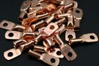 (25pc) 8 Gauge AWG #10 Copper Ring Terminal Wire Connector Car Audio CUR810