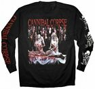 CANNIBAL CORPSE - Butchered At Birth - Long Sleeve T SHIRT S-M-L-XL-2XL New