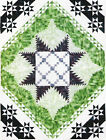 Feathered Logs quilt Pattern by Animas Quilts