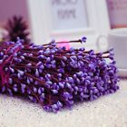 Внешний вид - 10x Flexible Artificial Floral Flower Stamen Rattan DIY Home Party Decor Craft