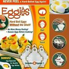 High 1 Set 6 Eggies Hard Boil Eggs Without The Shell with 1 Bonus Egg Separator