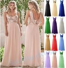 New Long Sequins Formal Ball Gown Party Evening Prom Cocktail Bridesmaid Dresses