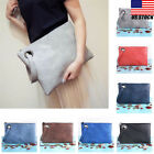 New Fashion Women PU Leather Handbag Clutch Envelope Shoulder Evening Bag Purse