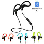 Sports Headset Wireless Bluetooth 4.1 Stereo Headphone Earphone with Mic Earbuds
