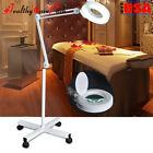 Pro 5x Diopter Magnifying Floor Stand Lamp Magnifier Glass Len Facial Light