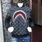 Men's Shark Mouth Black Fashion Limited Edition Jacket