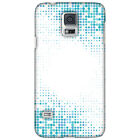 AMZER Blue Matrix HARD Protector Case Snap On Slim Phone Cover Accessory