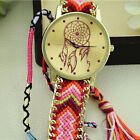 Luxury Women Watches Dreamcatcher Friendship Bracelet Braid Dress Watches