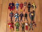 JLU Justice League Infinite Crisis Plus Batman Animated Lot of figures loose