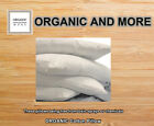 Organic Pillow Cotton  with Organic Fill and Organic covering |Organic Textiles image