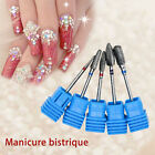 Pro Nail Art Drill Bits Carbide File Cuticle Clean Manicure Pedicure Tool Kits