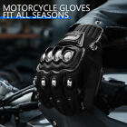 Touchscreen Alloy Steel Bicycle Motorcycle Motorbike Powersports Racing Gloves