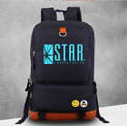 The Flash STAR Laboratories Noctilucence Messenger backpak Black bag
